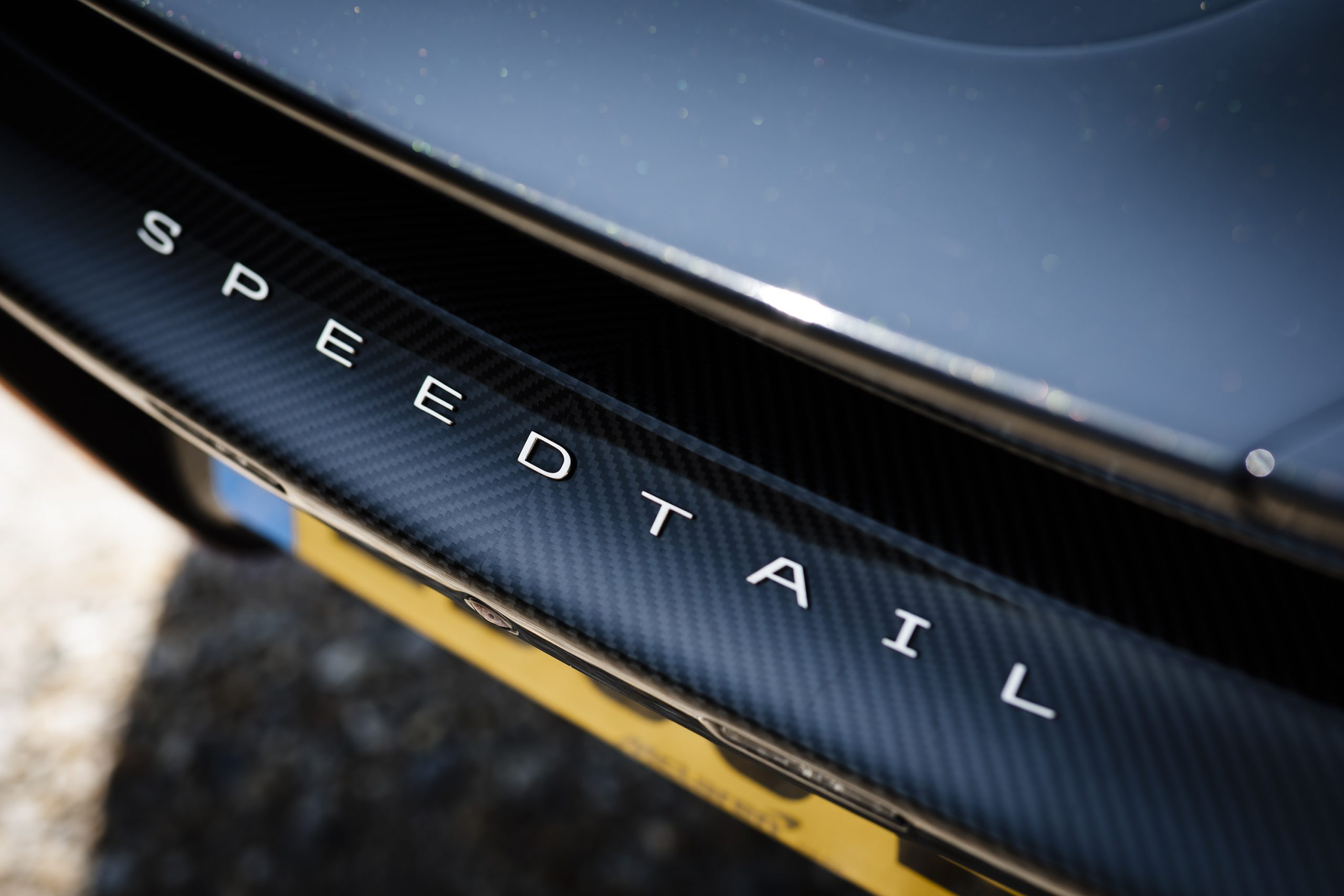 Speedtail PP1 Rear Badging