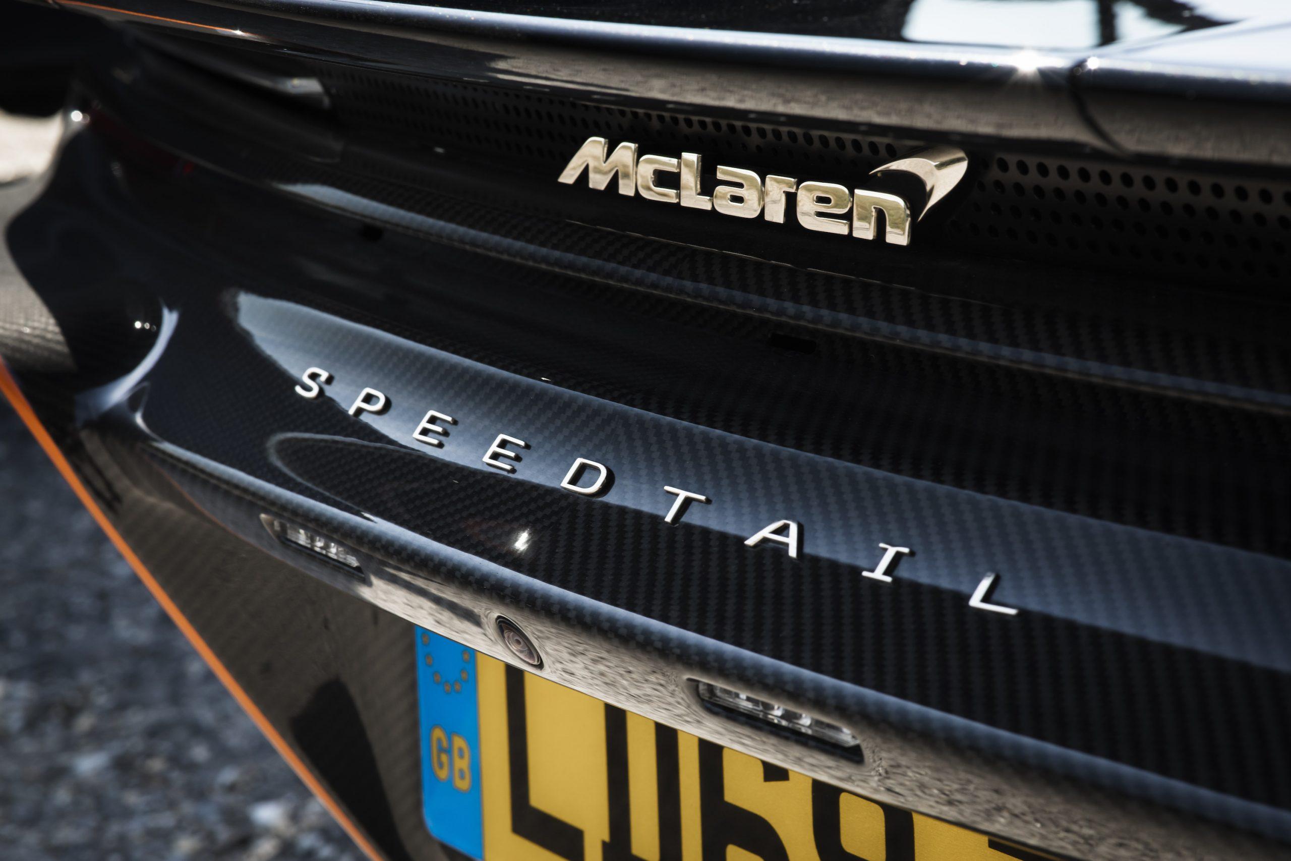 Speedtail PP1 Rear McLaren