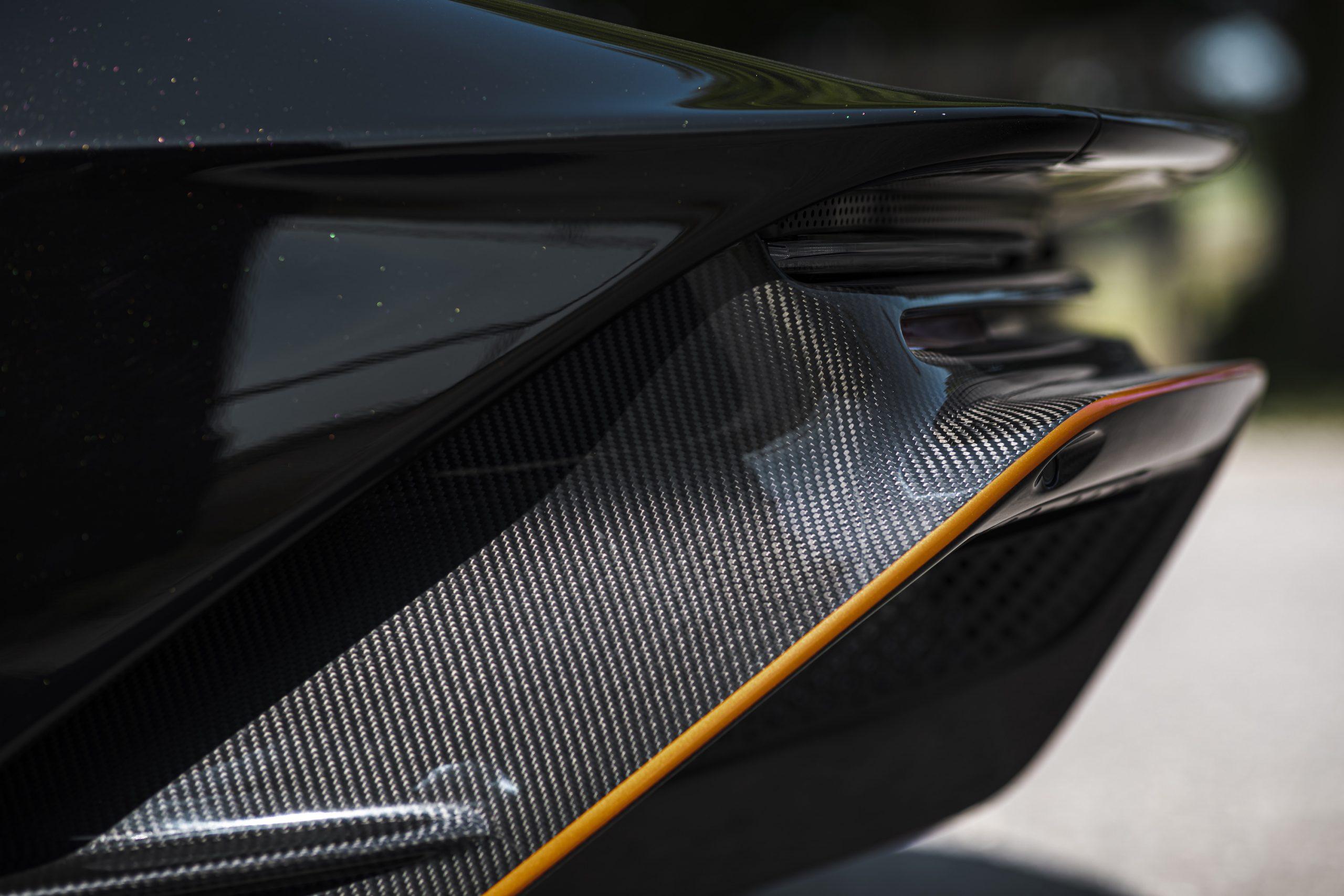 Speedtail PP1 Exterior Carbon Fiber