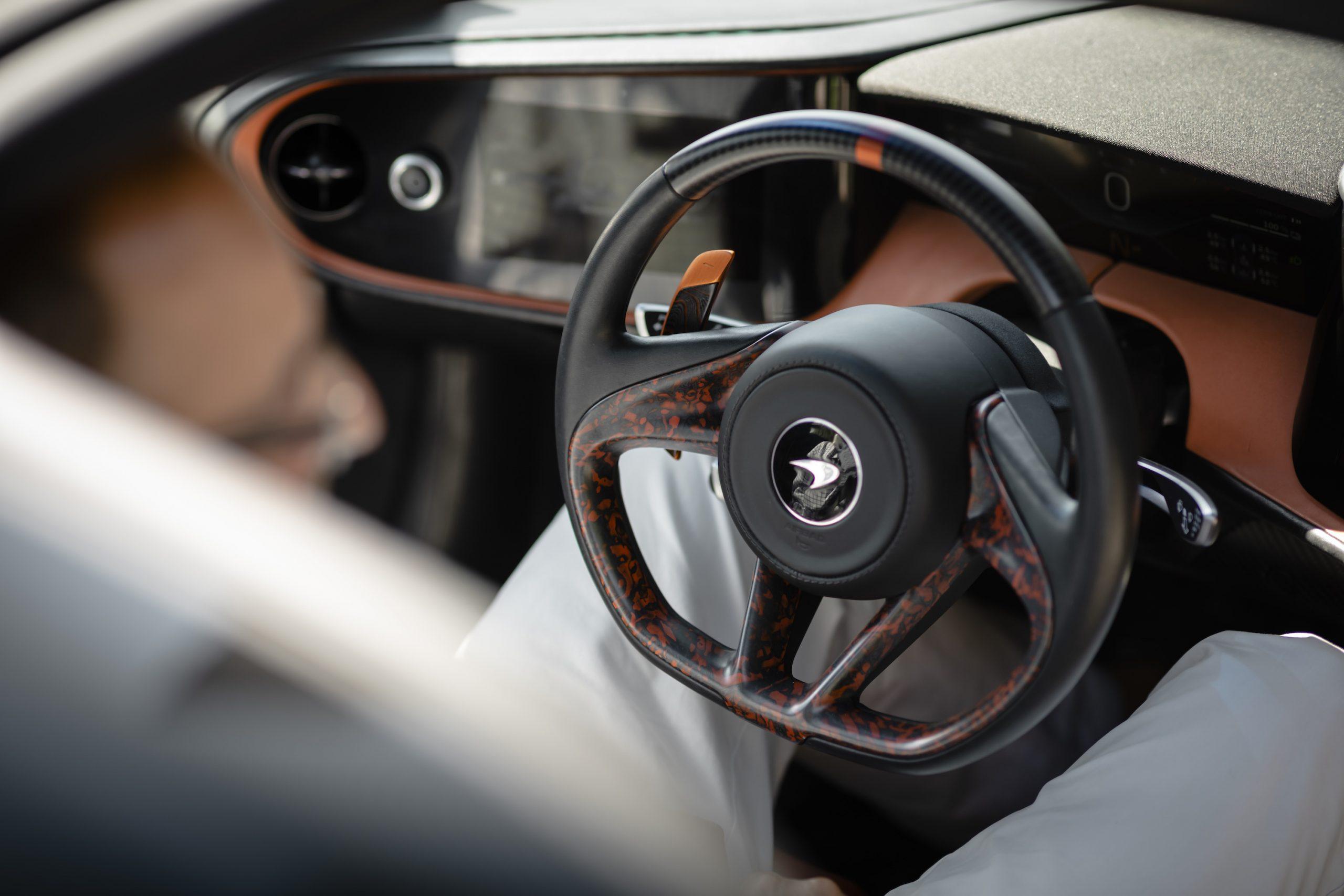 Speedtail PP1 Steering Wheel
