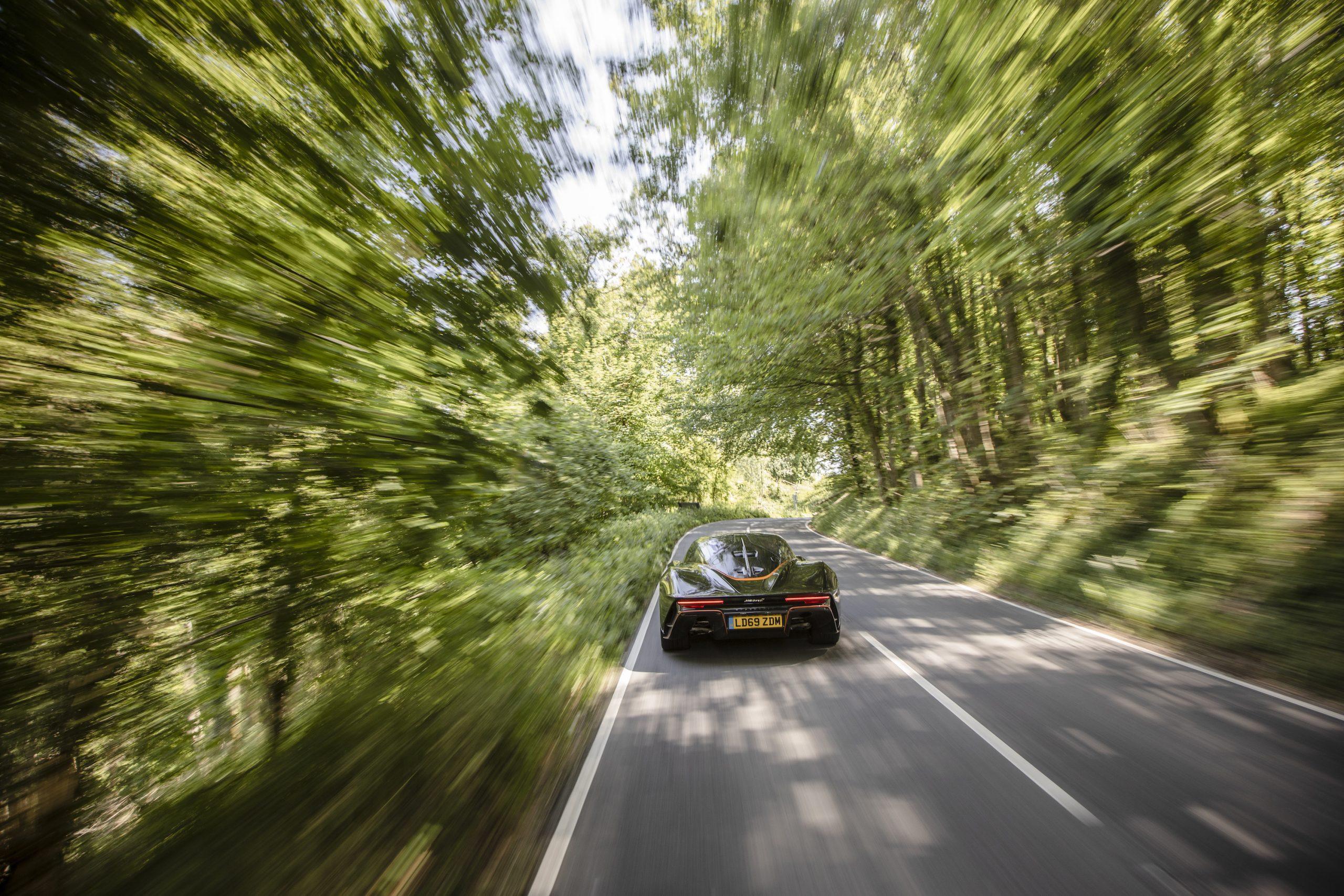 Speedtail PP1 Rear Action