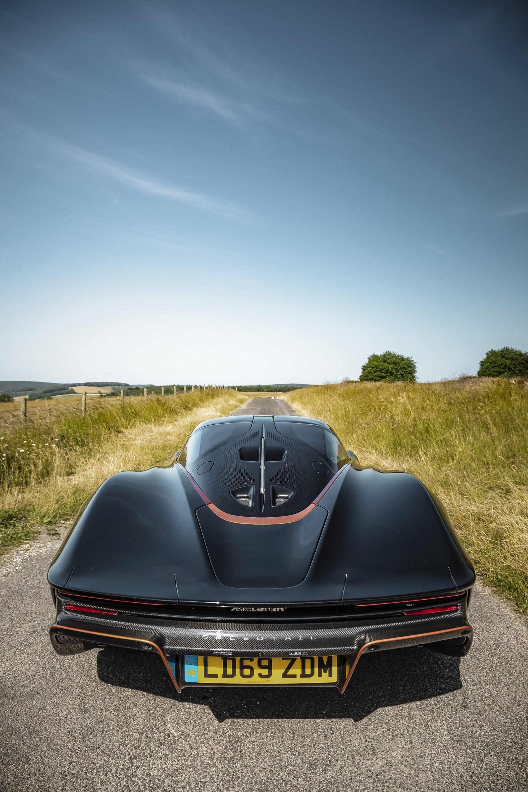 Speedtail PP1 Rear