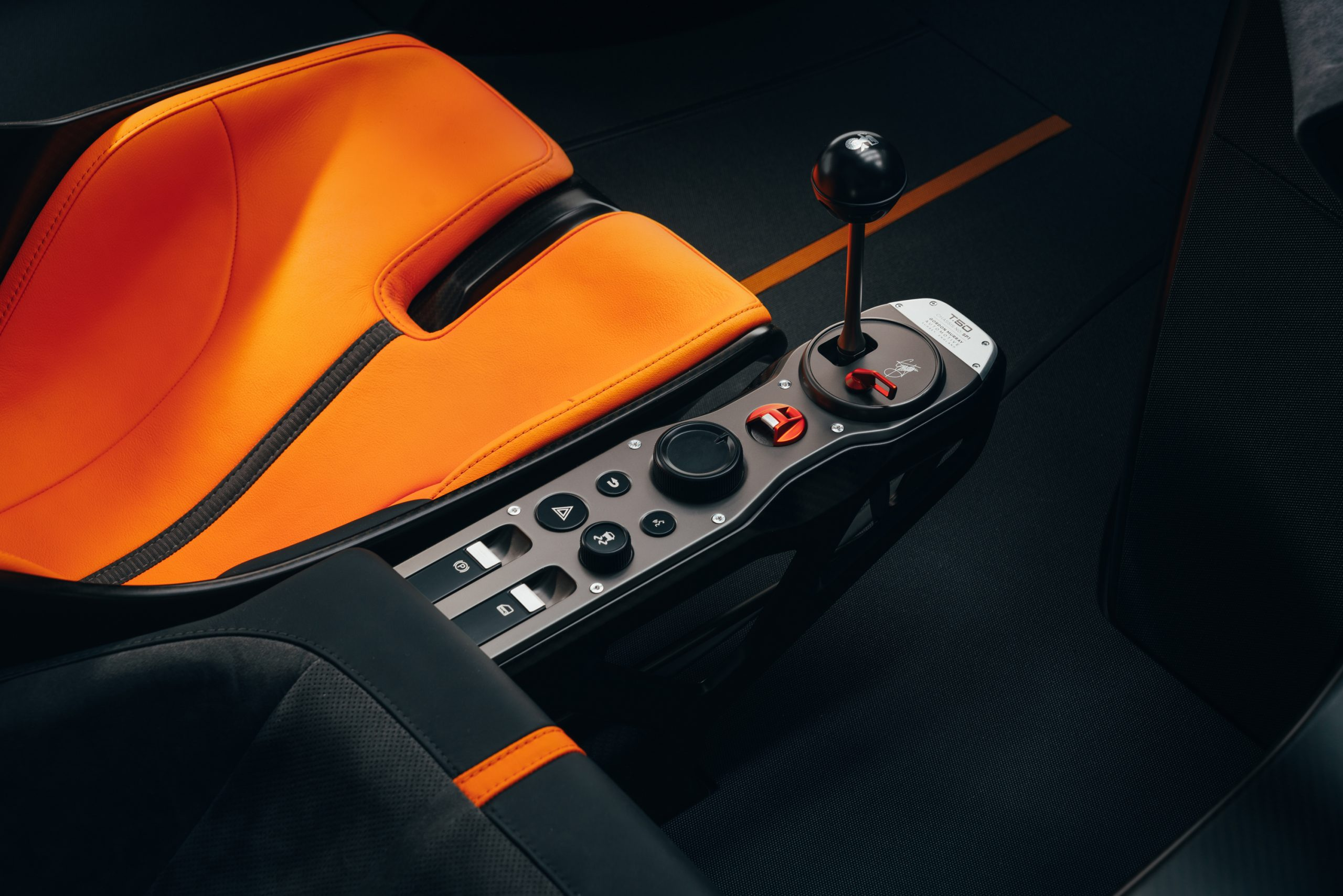 T50 shifter console