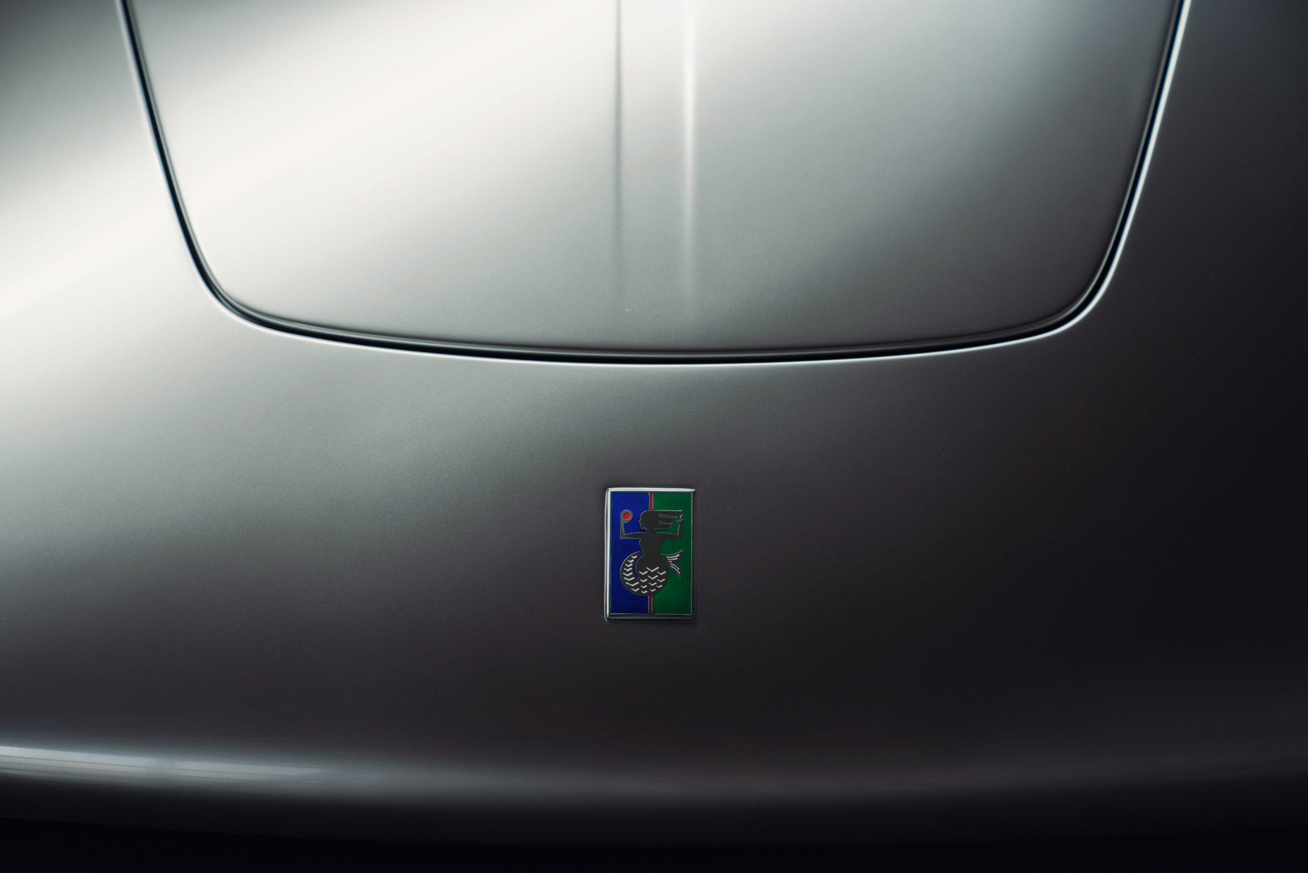 T50 hood emblem