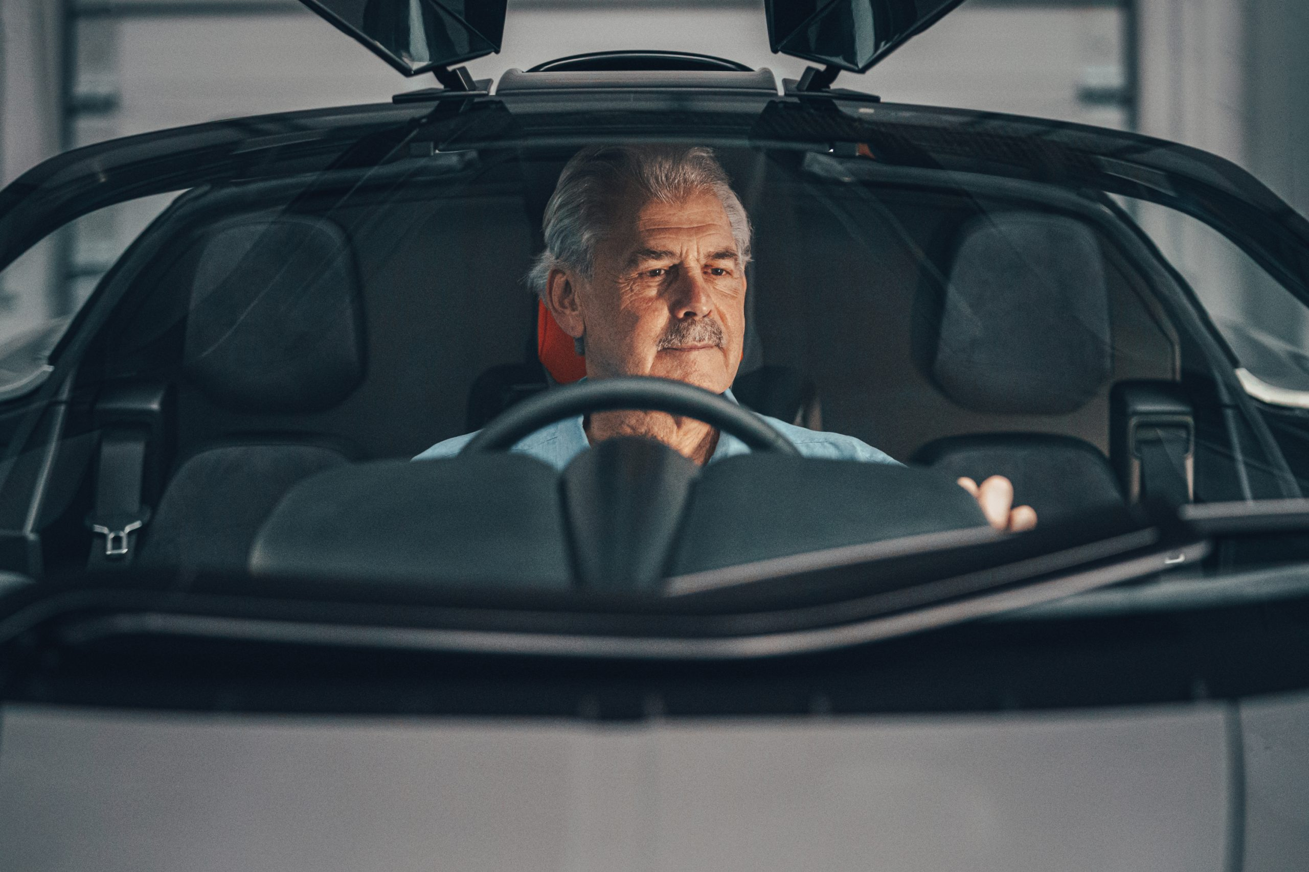 T50 gordon murray behind wheel