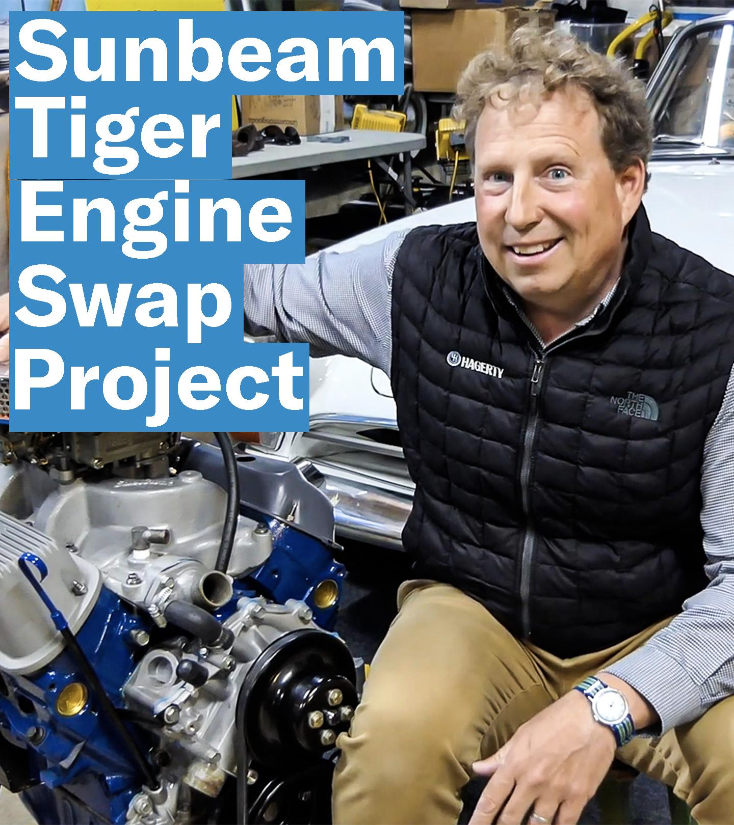 Sunbeam Tiger Engine Swap Project