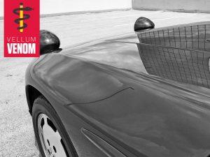 Vellum Venom banner Porsche 928 S4