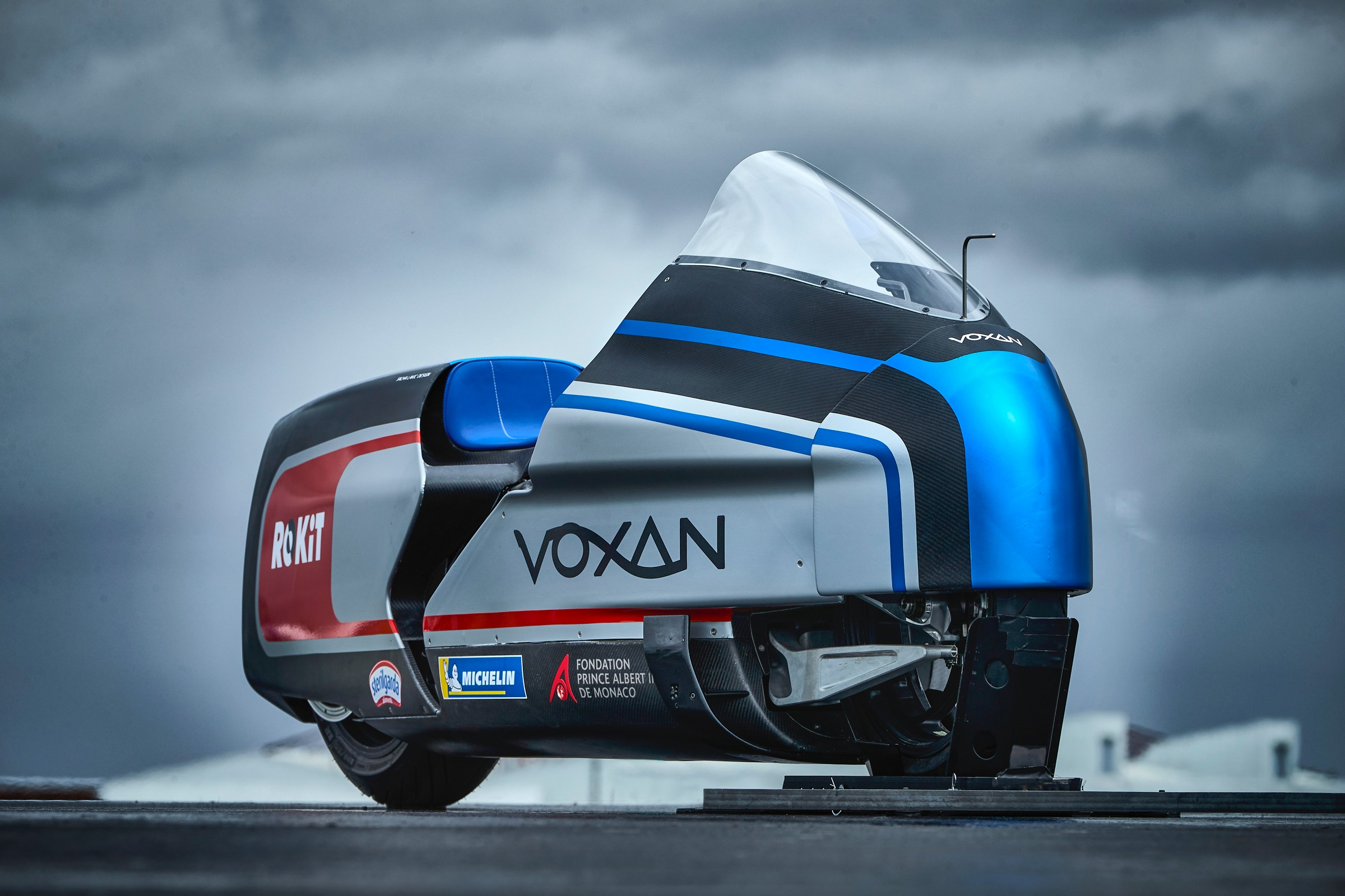 The insane electric bike bidding for a land speed record