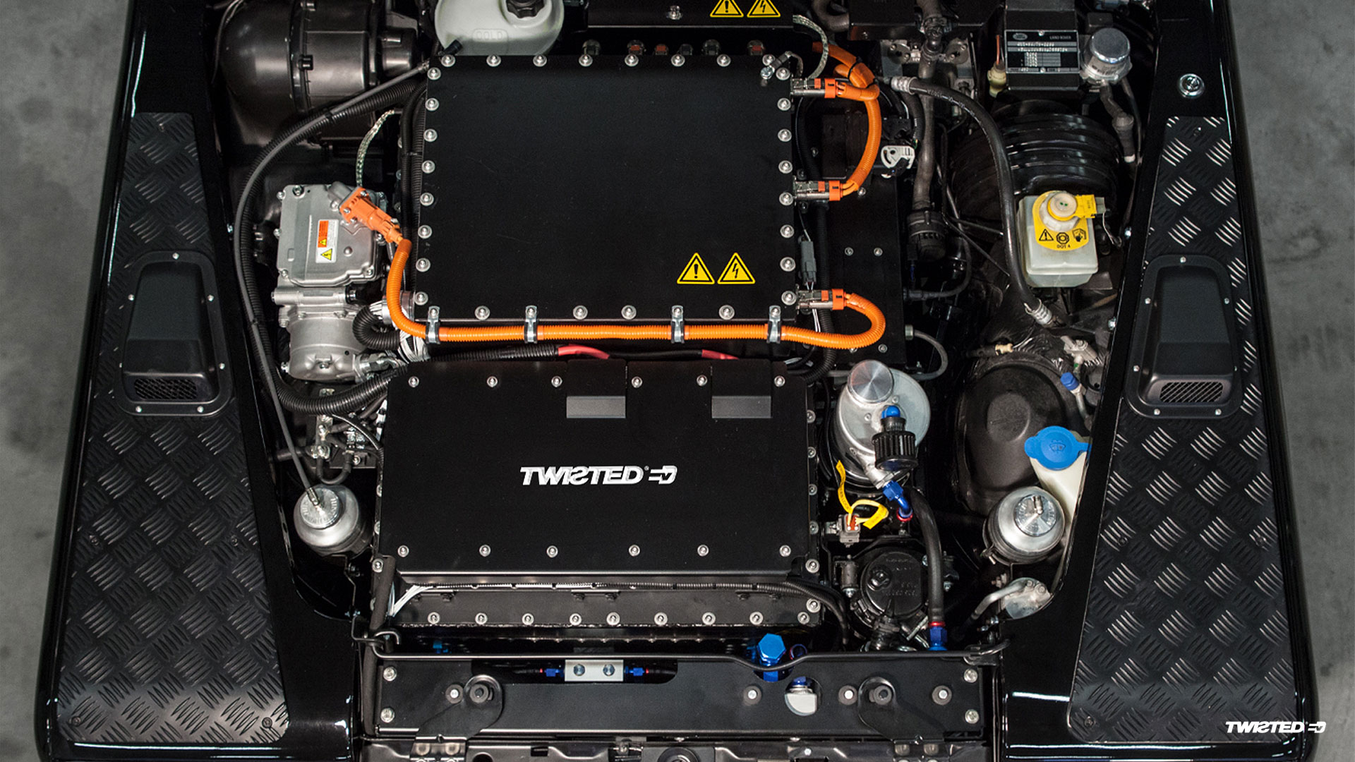 Twisted electric Defender 4