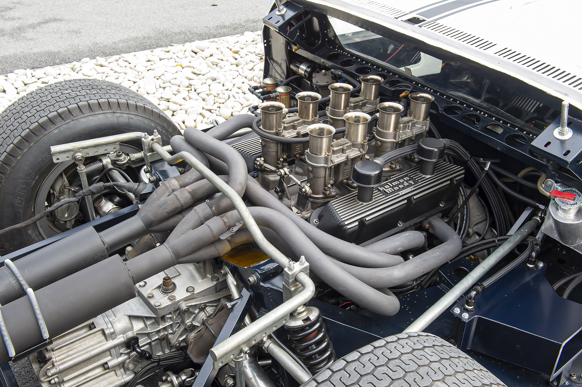 1964 Ford GT40 Prototype GT/105 engine