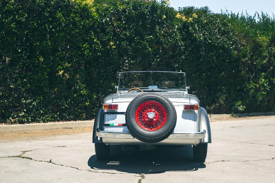 1967 SIATA SPRING rear spare wheel