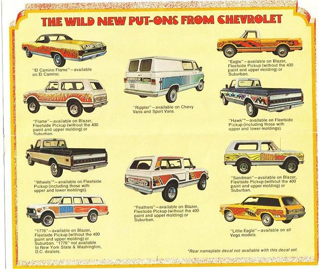 1972 Chevy Mod Bods