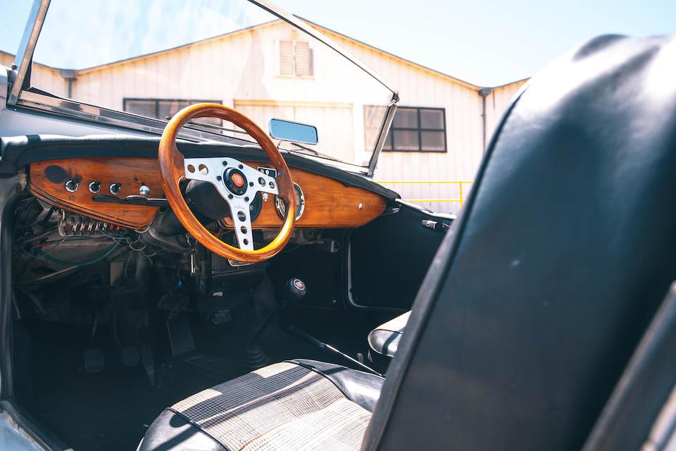 1967 SIATA SPRING interior