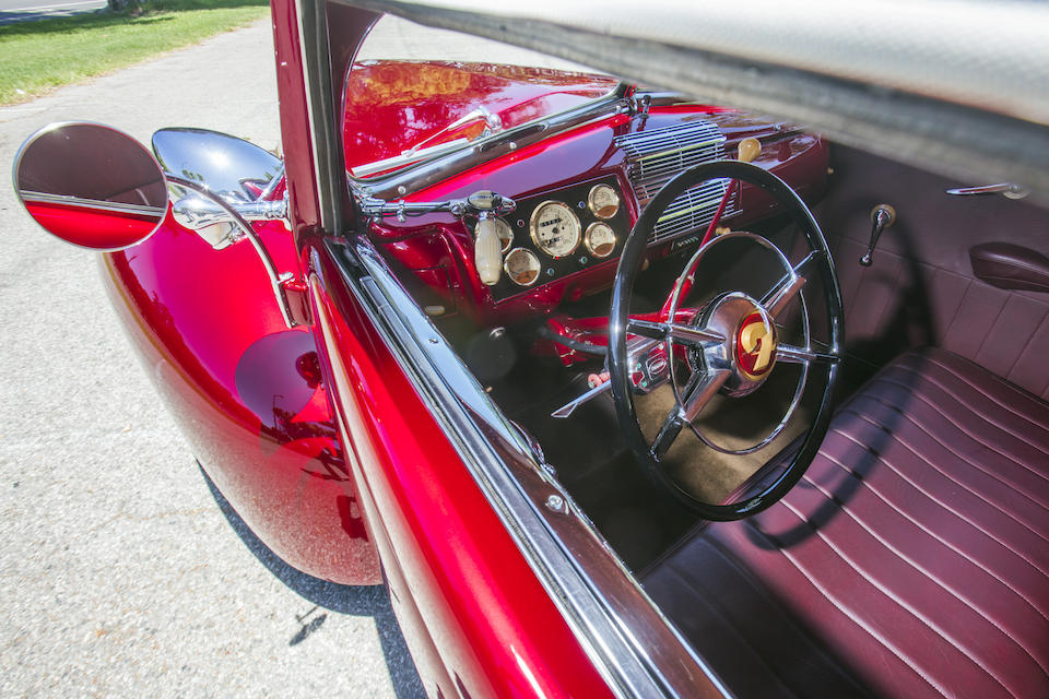 1939 Ford Convertible Coupe Hot Rod interior window