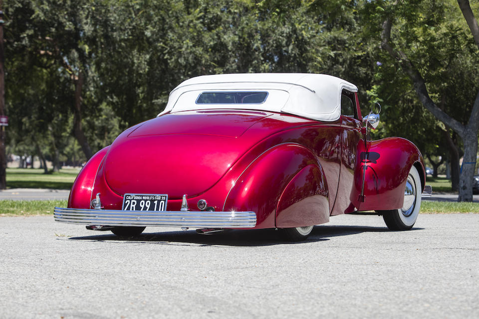 1939 Ford Convertible Coupe Hot Rod rear fenders
