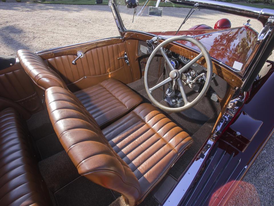 1934 ALFA ROMEO 8C 2300 CABRIOLET DÉCAPOTABLE Coachwork by Figoni interior