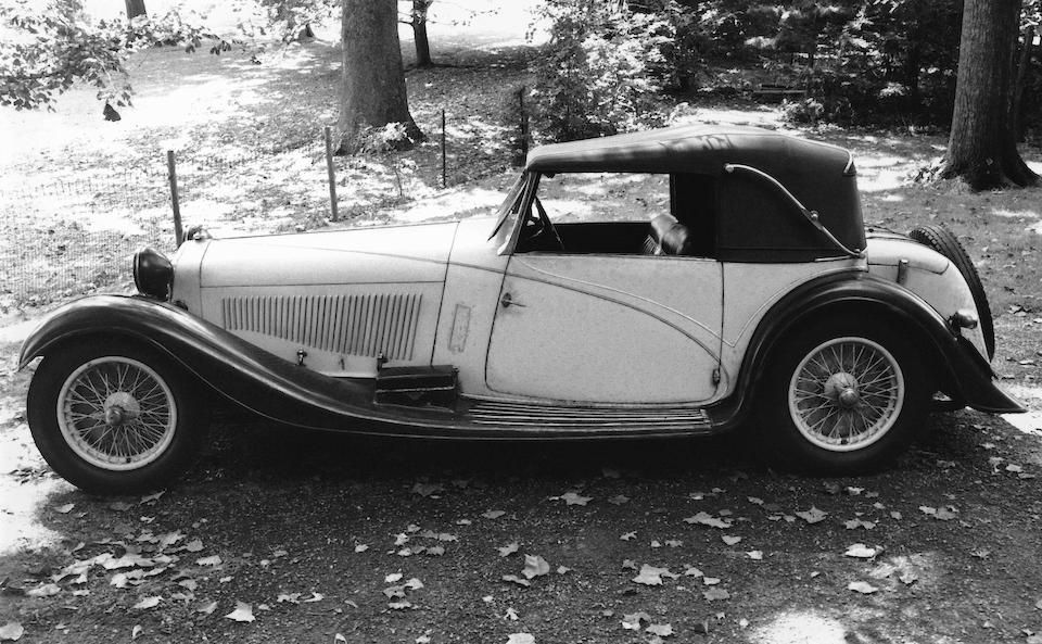 1934 ALFA ROMEO 8C 2300 CABRIOLET DÉCAPOTABLE Coachwork by Figoni profile