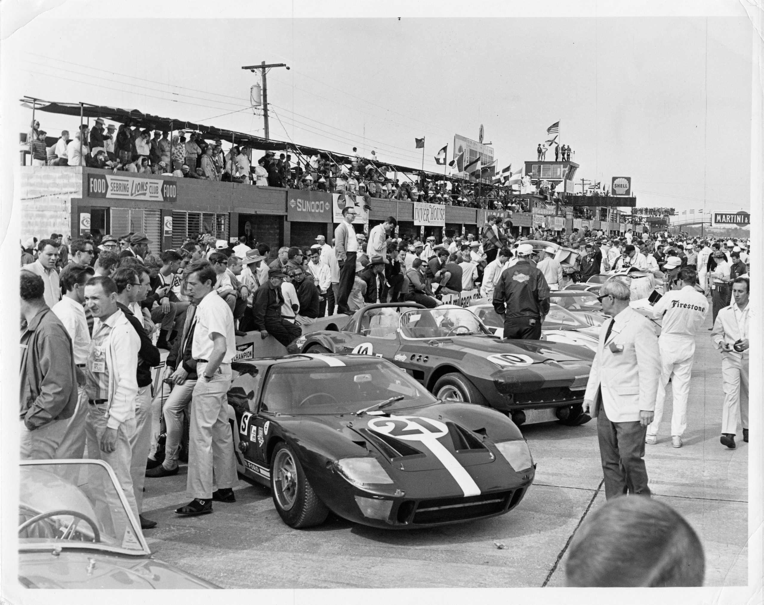 1964 Ford GT40 Prototype GT/105 Sebring March 1966