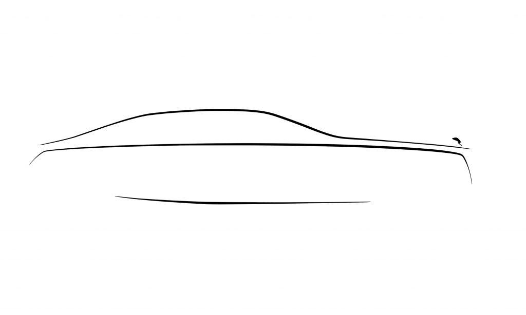 Rolls-Royce Ghost 2021 sketch