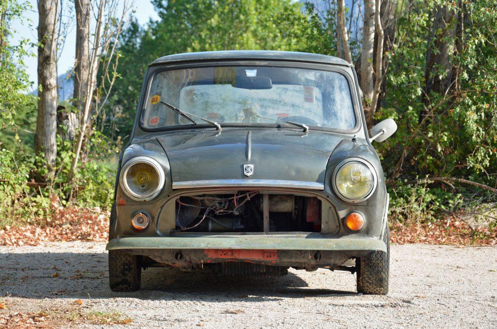 1972 Mini Front