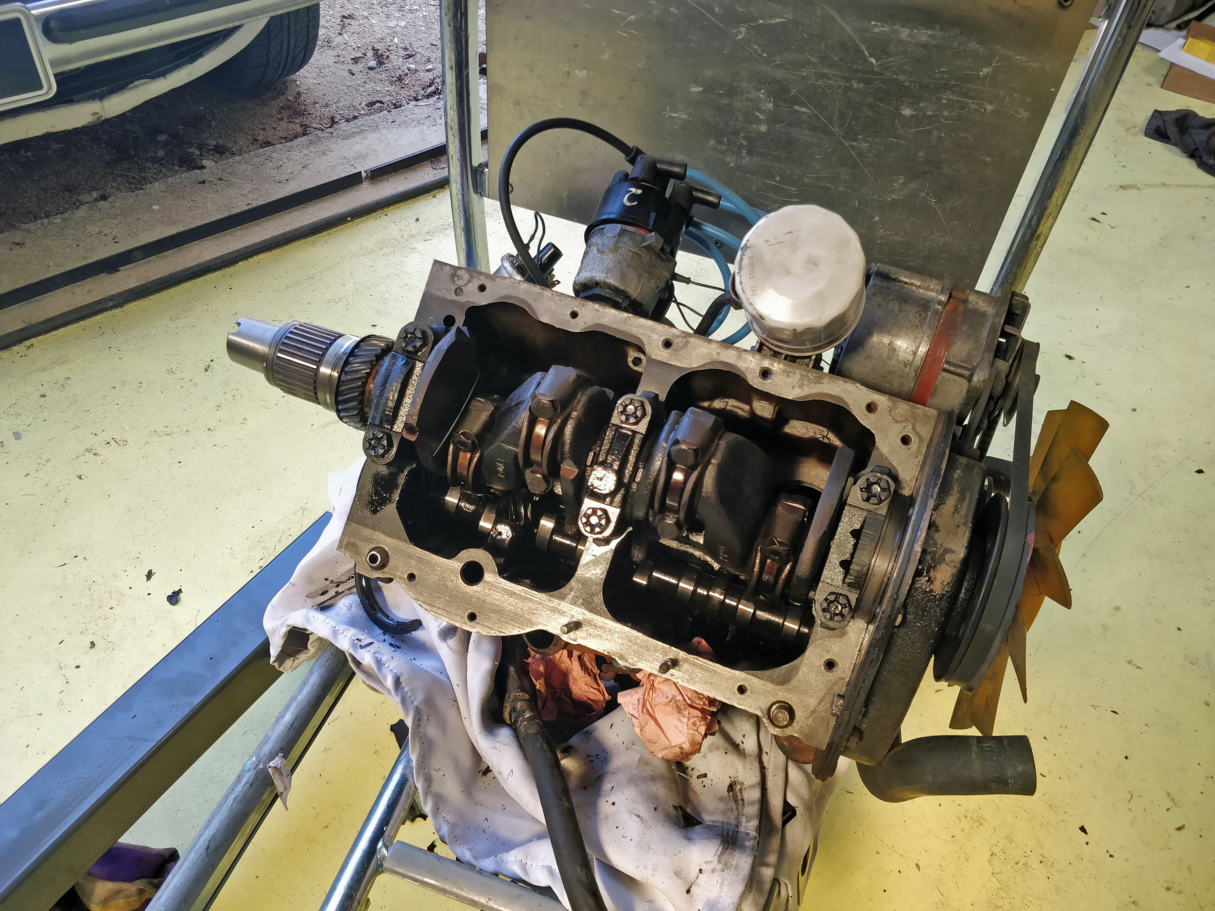 Mini 850 Engine Internals