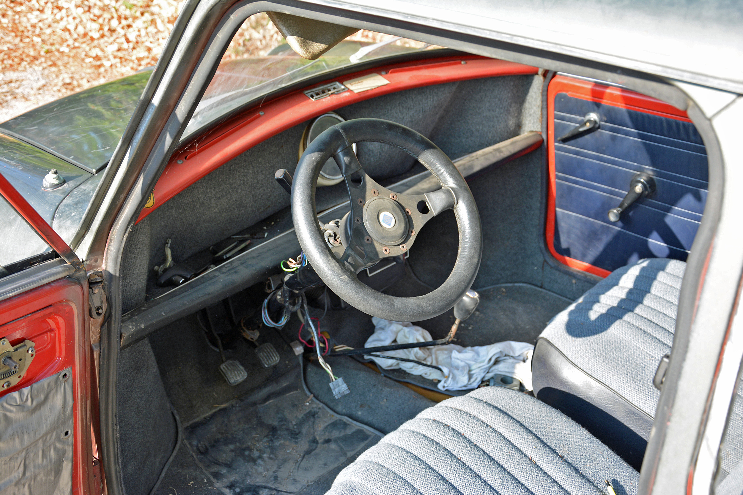 1972 Mini Steering Wheel