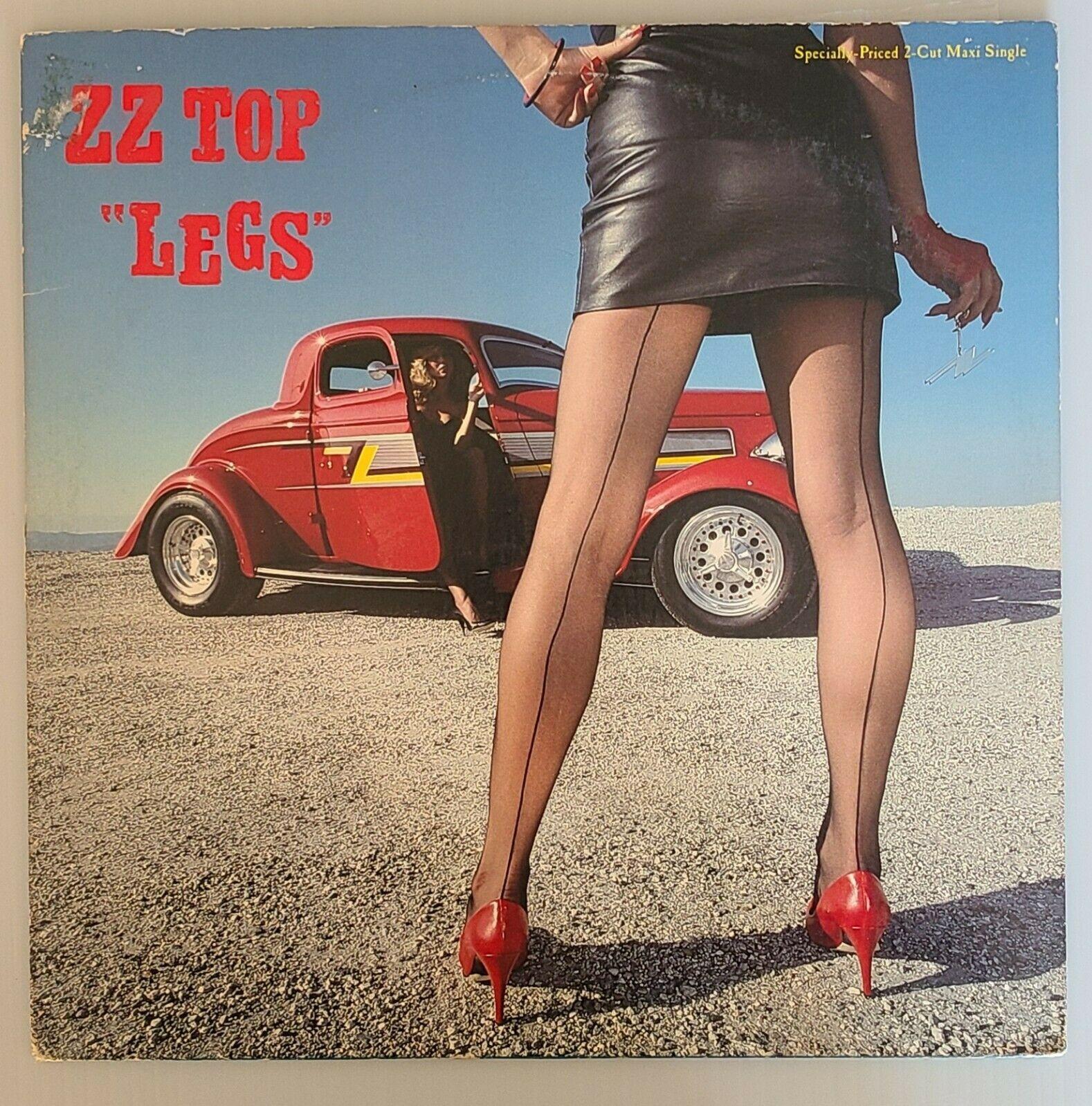 zz top album cover hot legs eliminator coupe