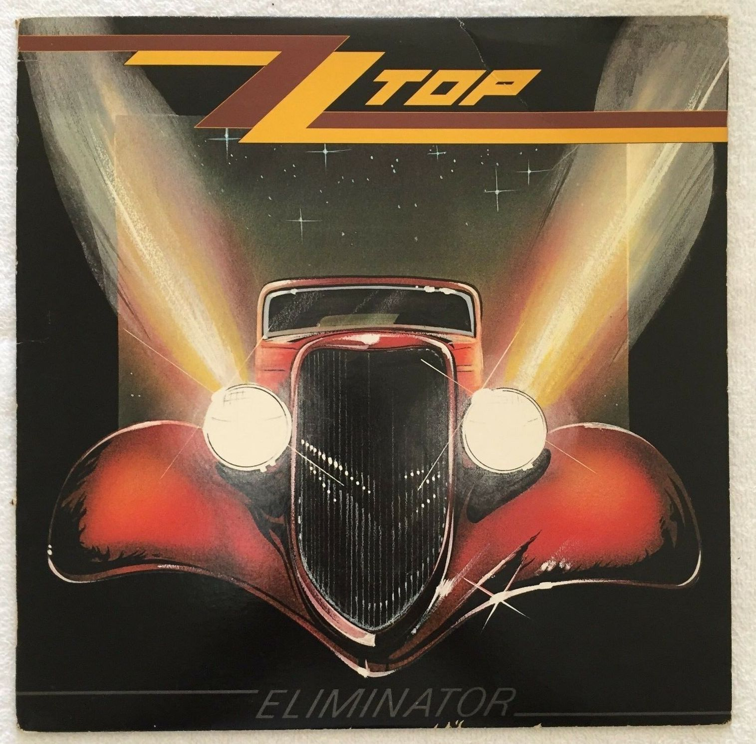zz top eliminator record hot rod coupe