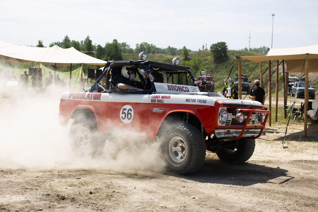 Shelby Hall 1968 Bronco race truck Holly Michigan 2020