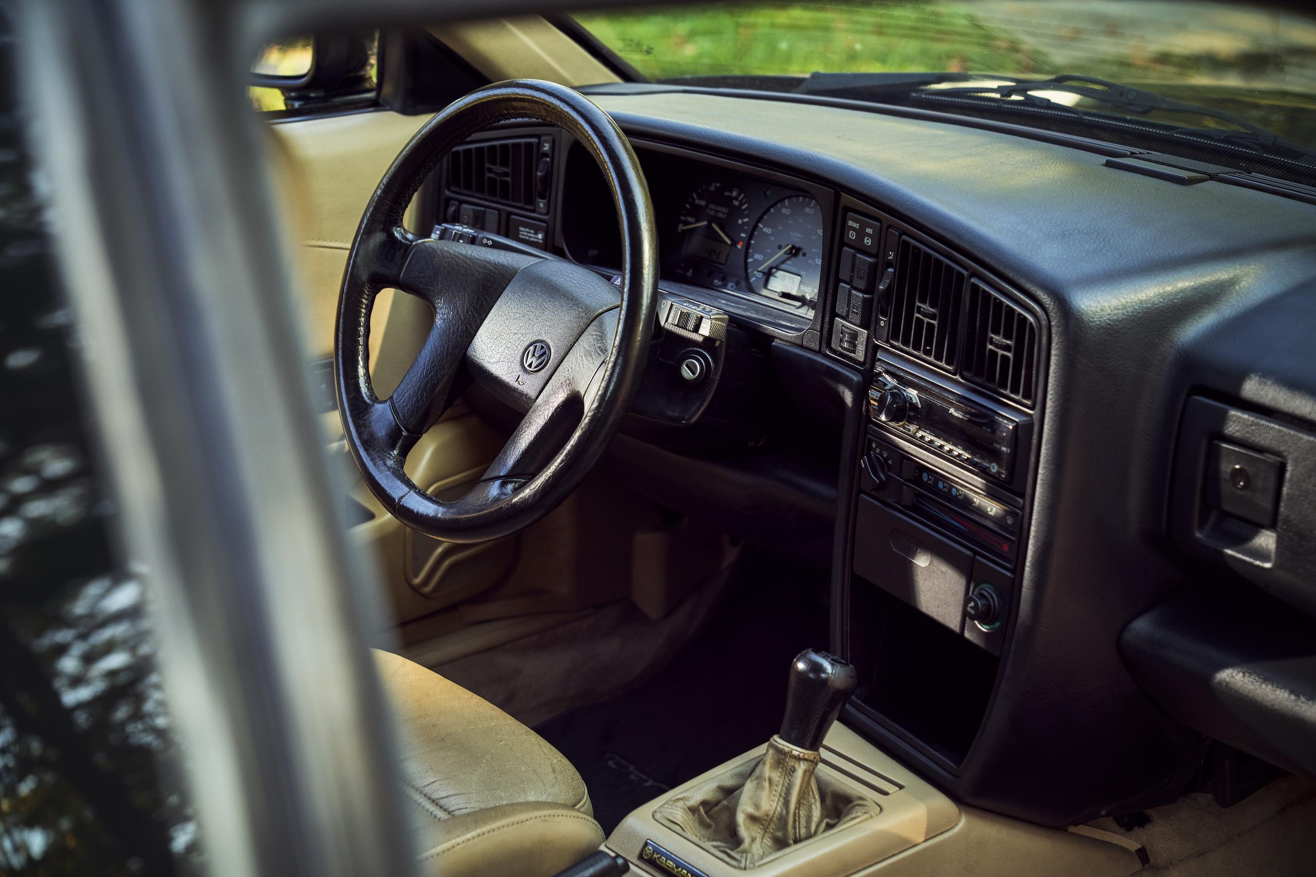 Volkswagen VW Corrado front interior