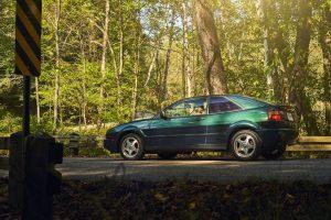 Volkswagen VW Corrado rear three-quarter