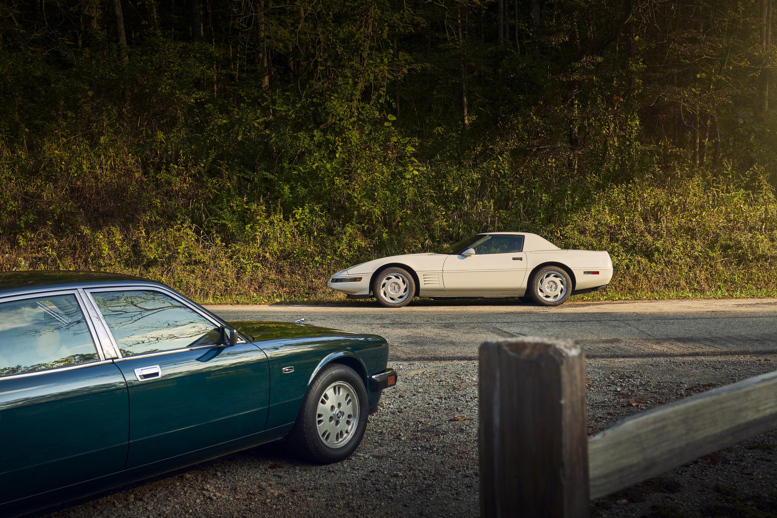 C4 Corvette and Jaguar XJ6 still