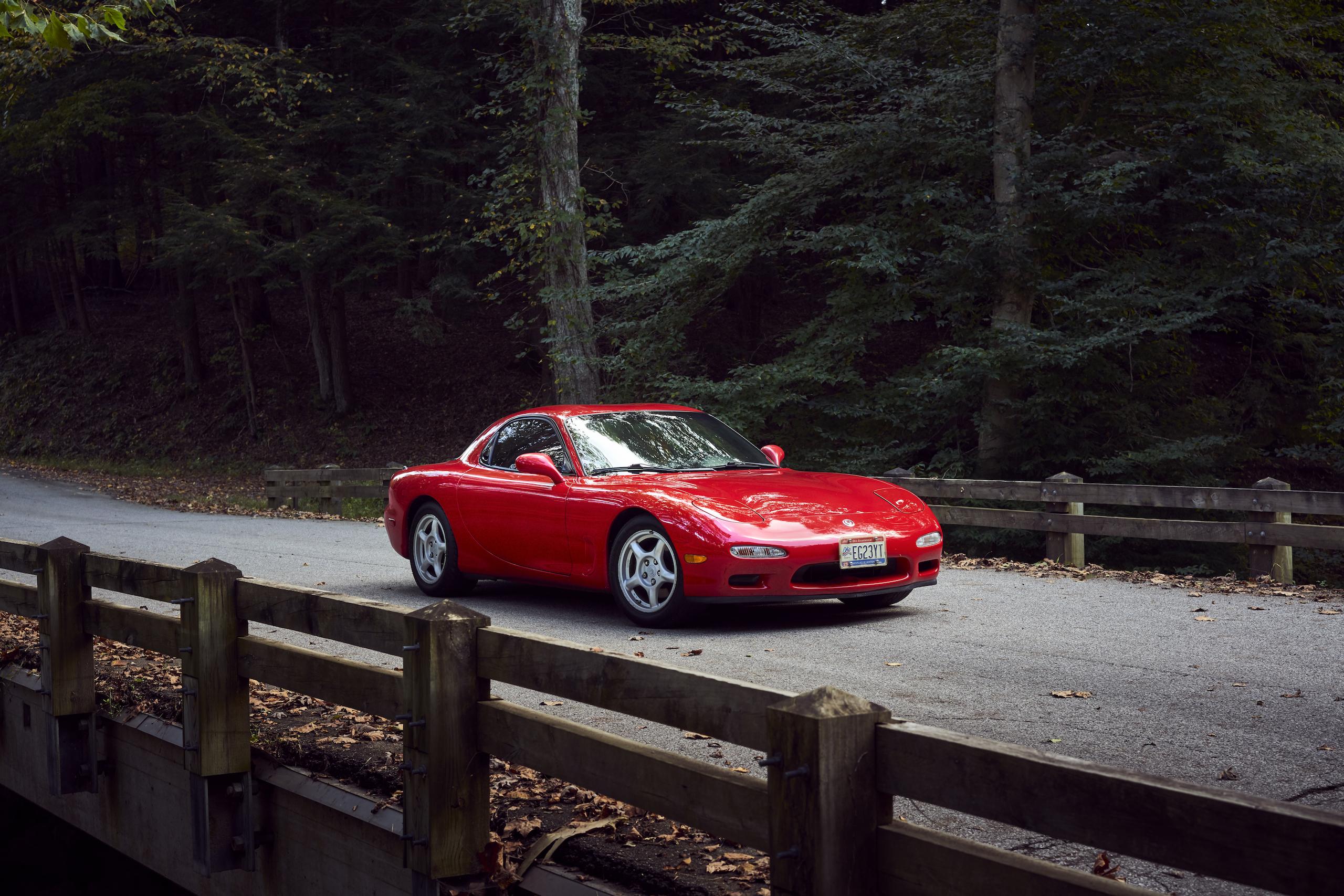 Mazda RX-7 front three-quarter