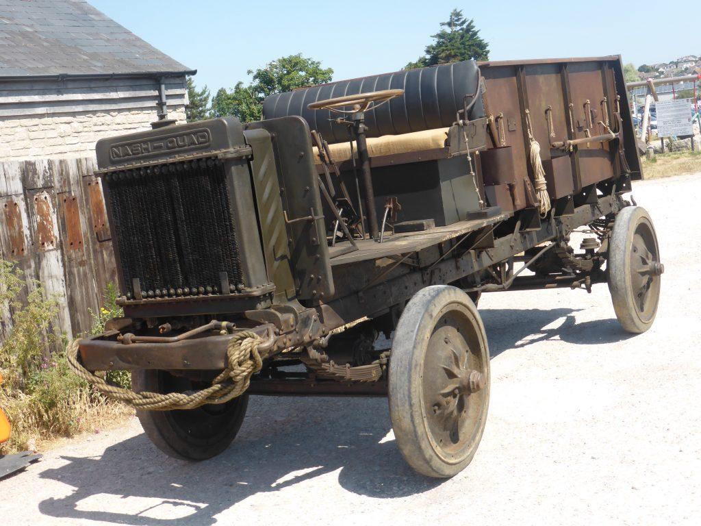 1917 Nash Quad munitions carrier front three-quarter