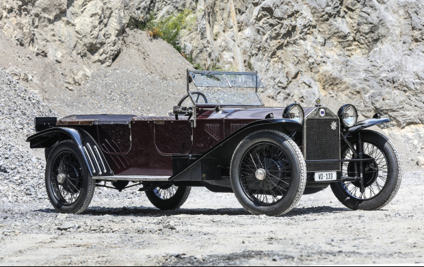 1924 Lancia Lambda 3rd Series Torpédo