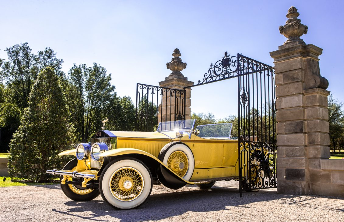 Robert redford gatsby rolls-royce front three-quarter gate