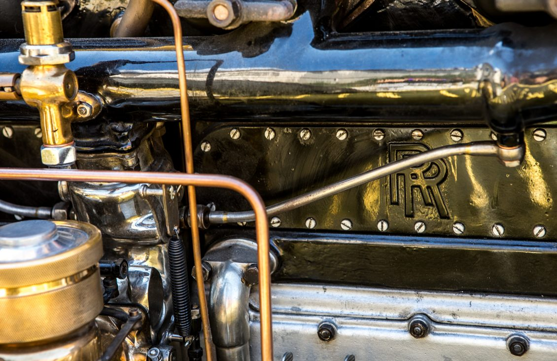 robert redford gatsby rolls-royce engine