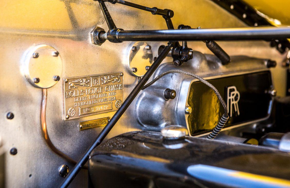 robert redford gatsby rolls-royce engine bay
