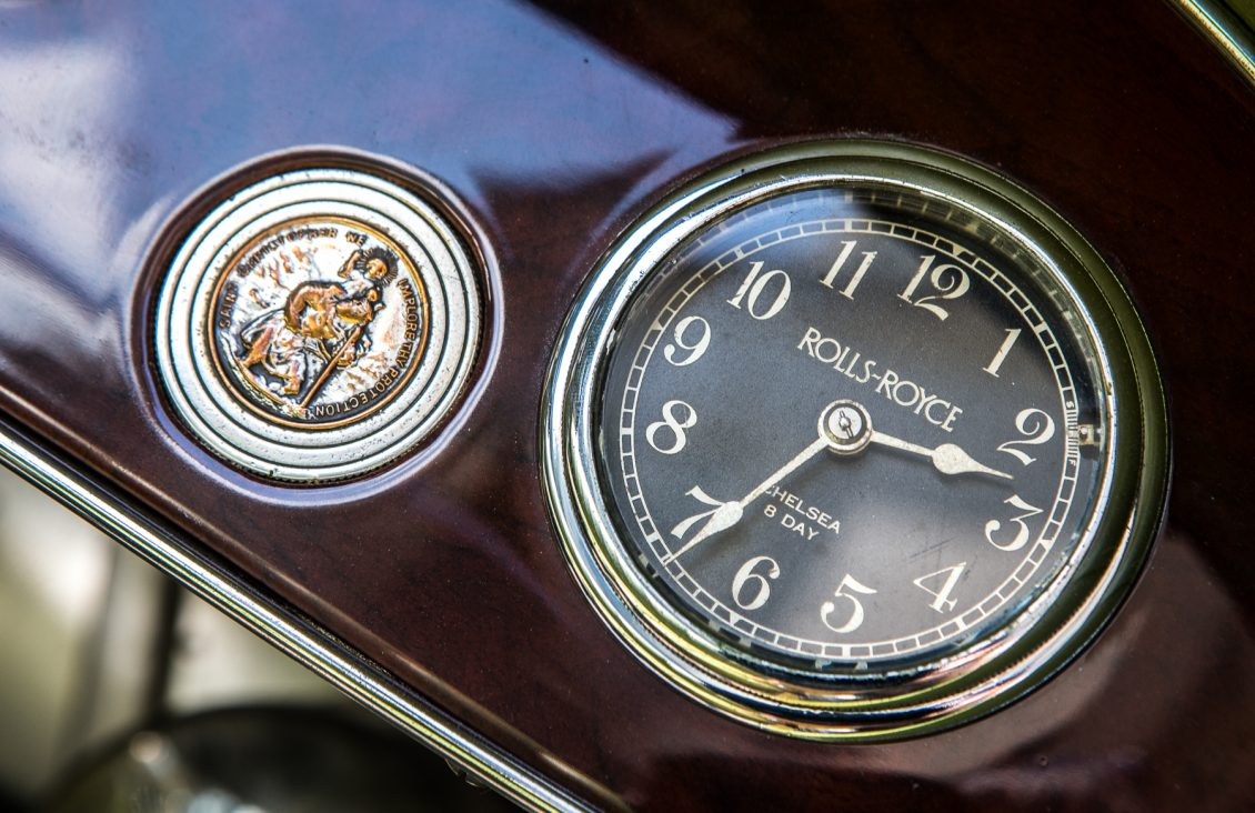 robert redford gatsby rolls-royce clock