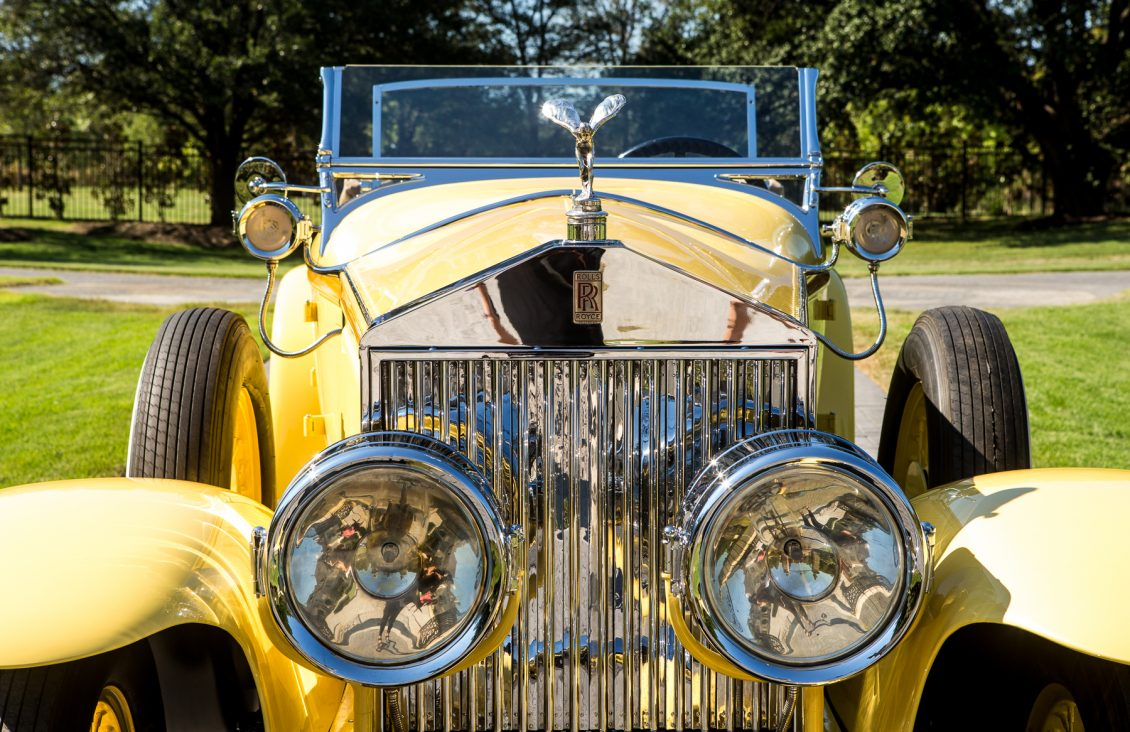 robert redford gatsby rolls-royce front close