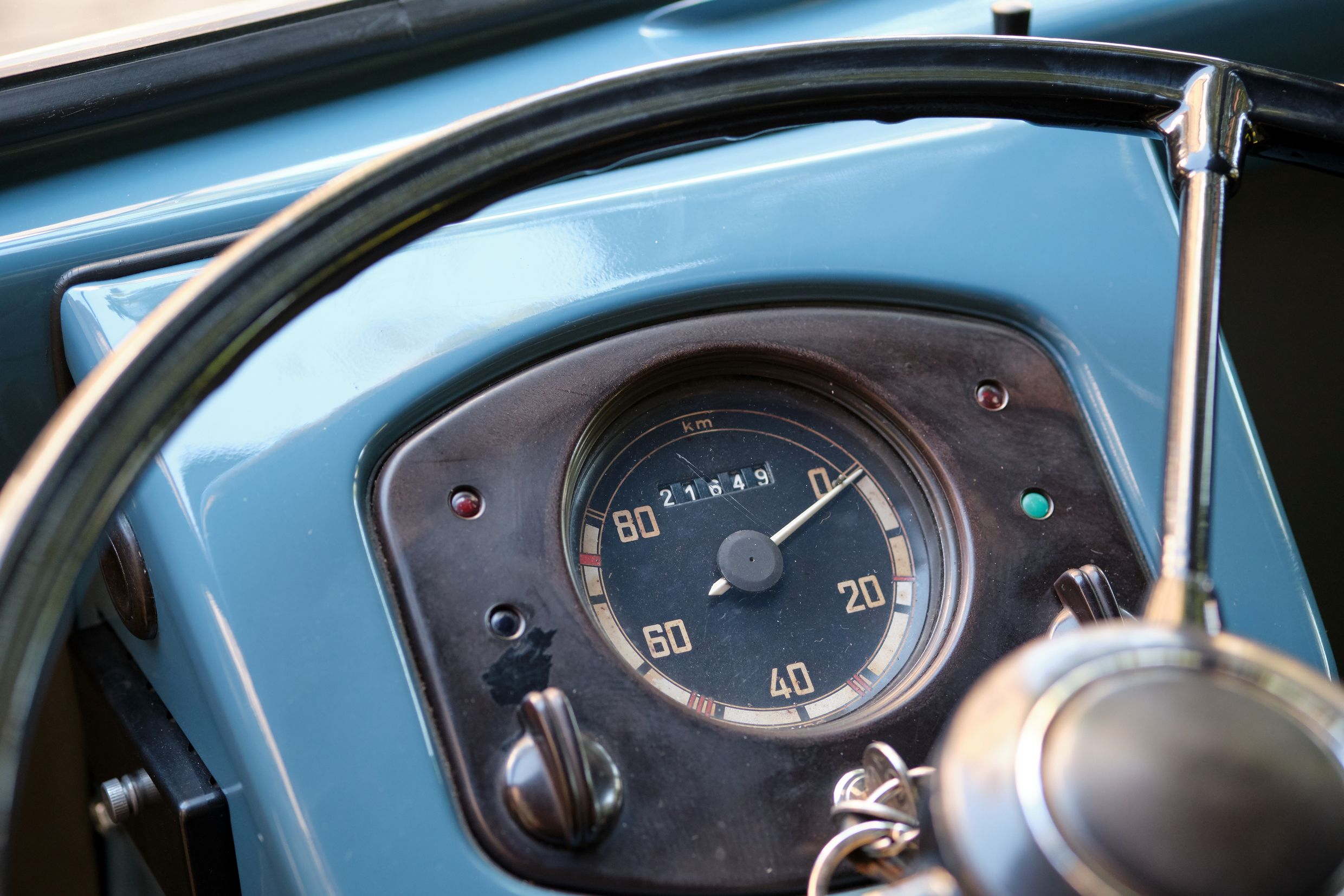 1950 VW T2 - Oldest - Speedometer
