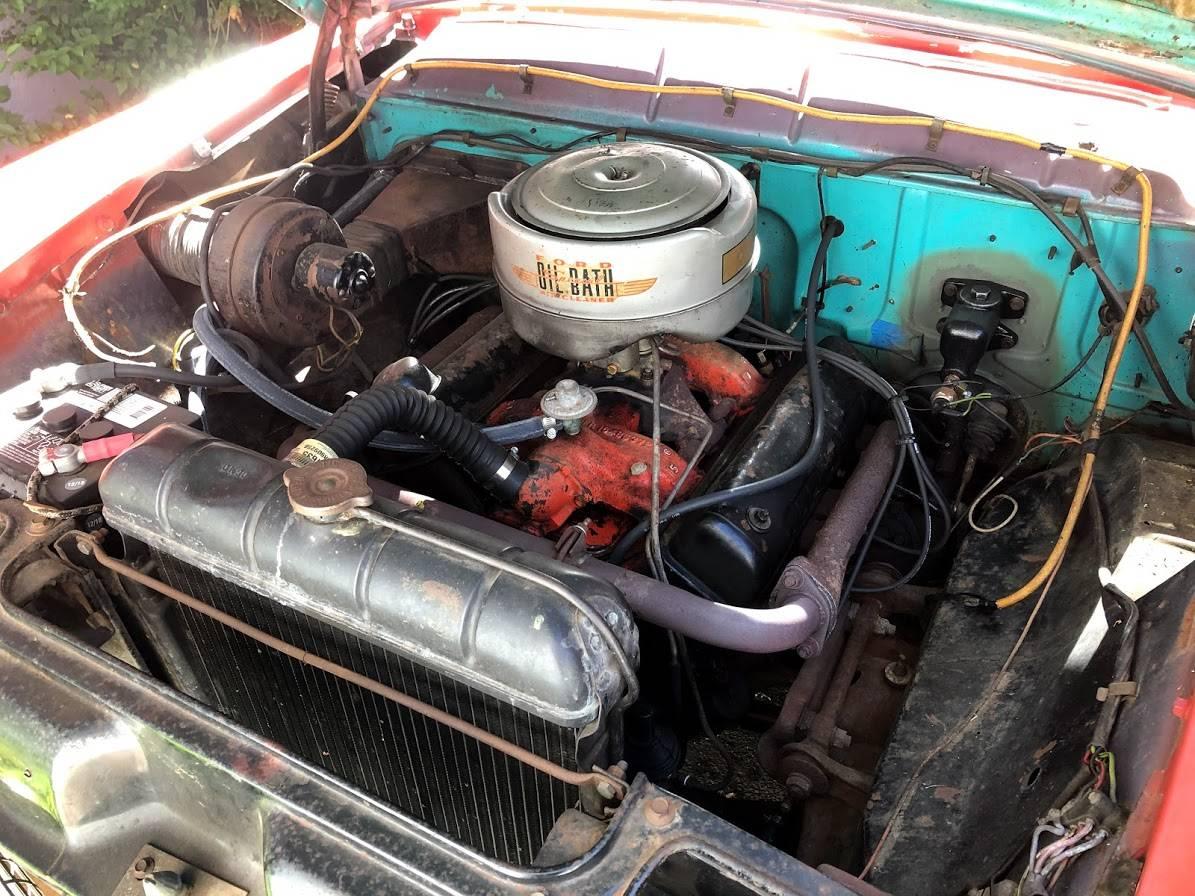 vintage ambulette engine