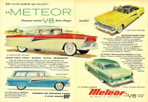 1955 Meteor Rideau & Country Sedan Models