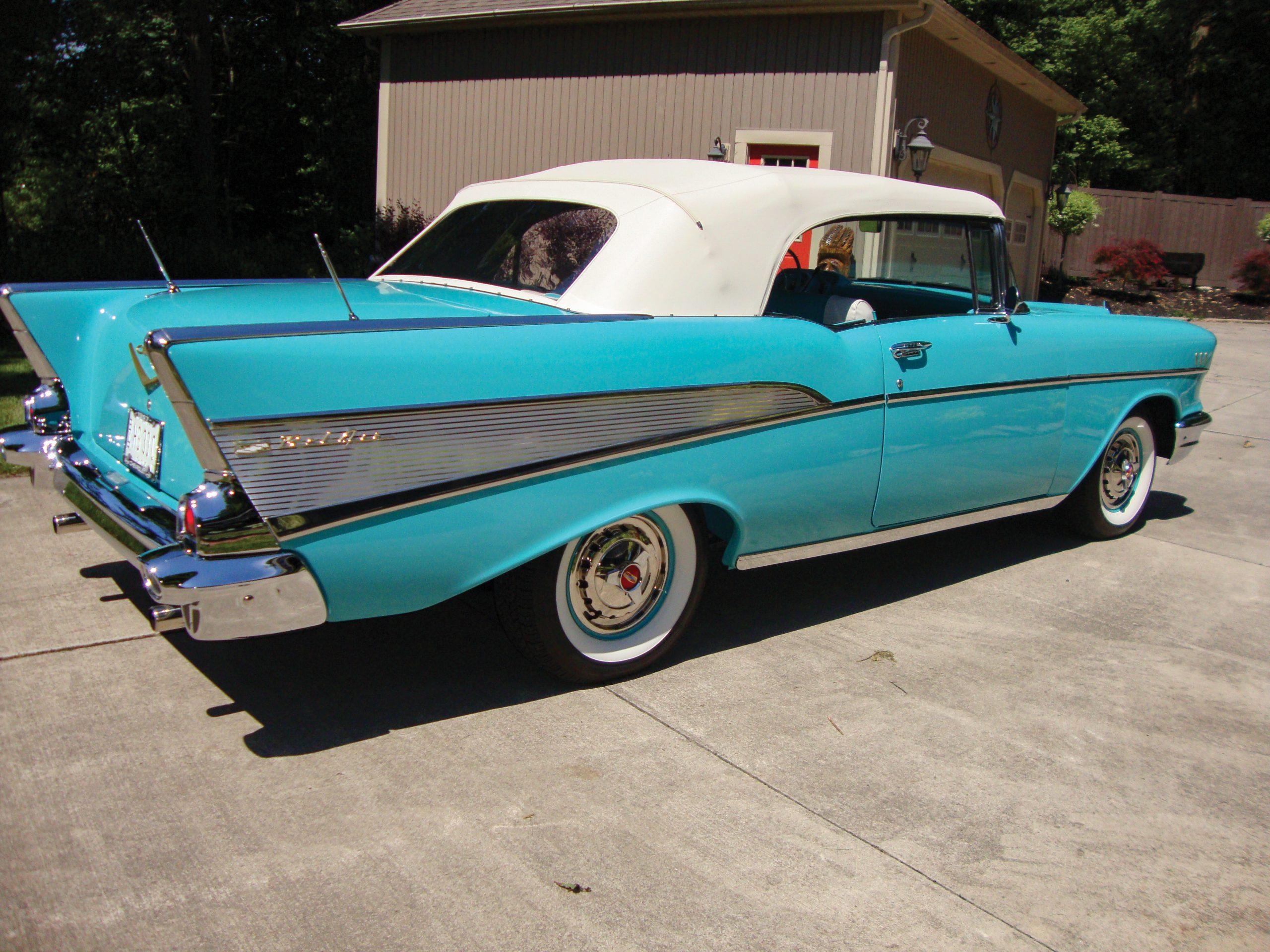 1957-Chevrolet-Bel-Air-Convertible-rear