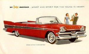 1957 Dodge Mayfair Convertible Vintage Ad
