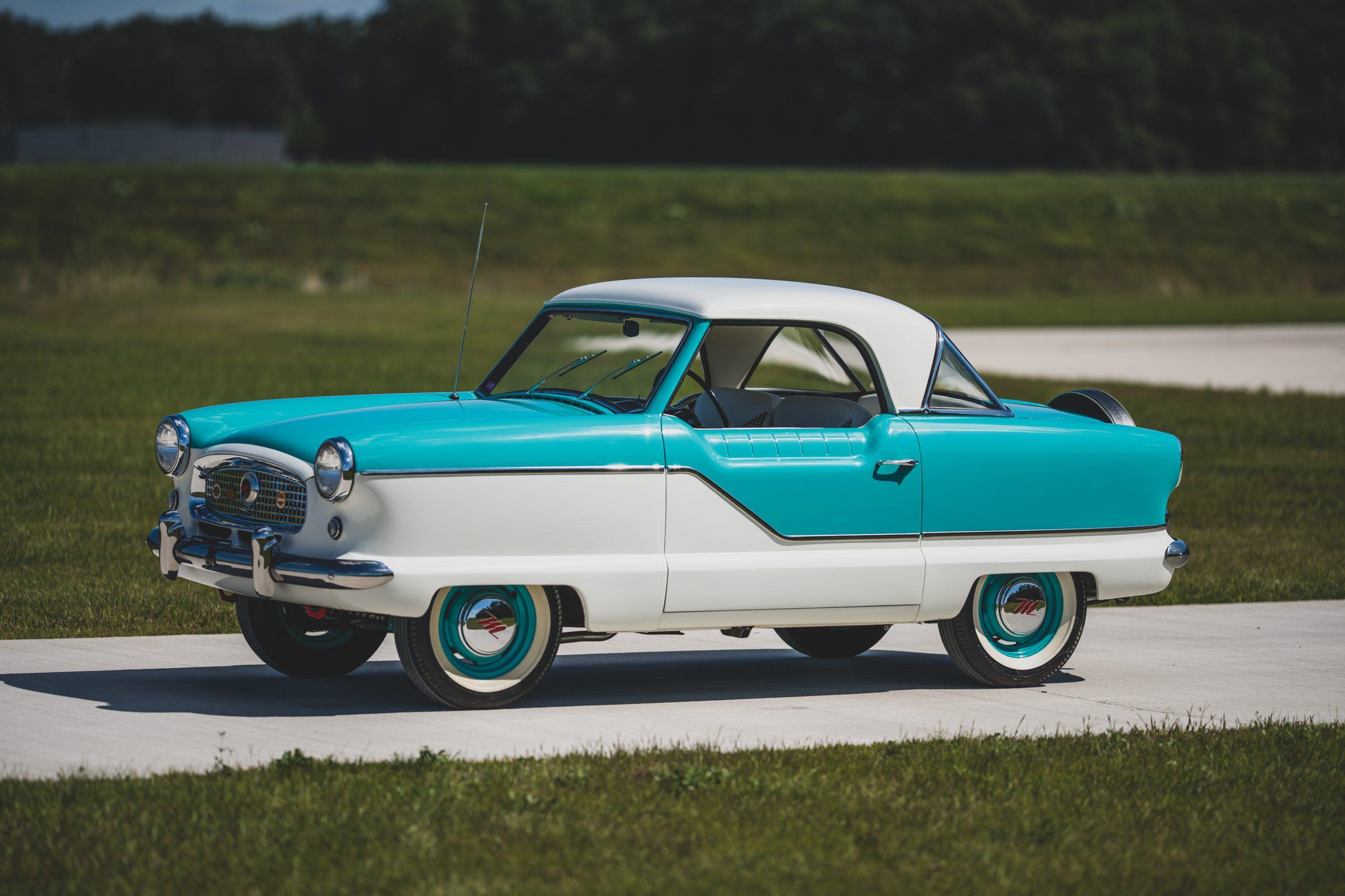 1957-Nash-Metropolitan-front-three-quarter