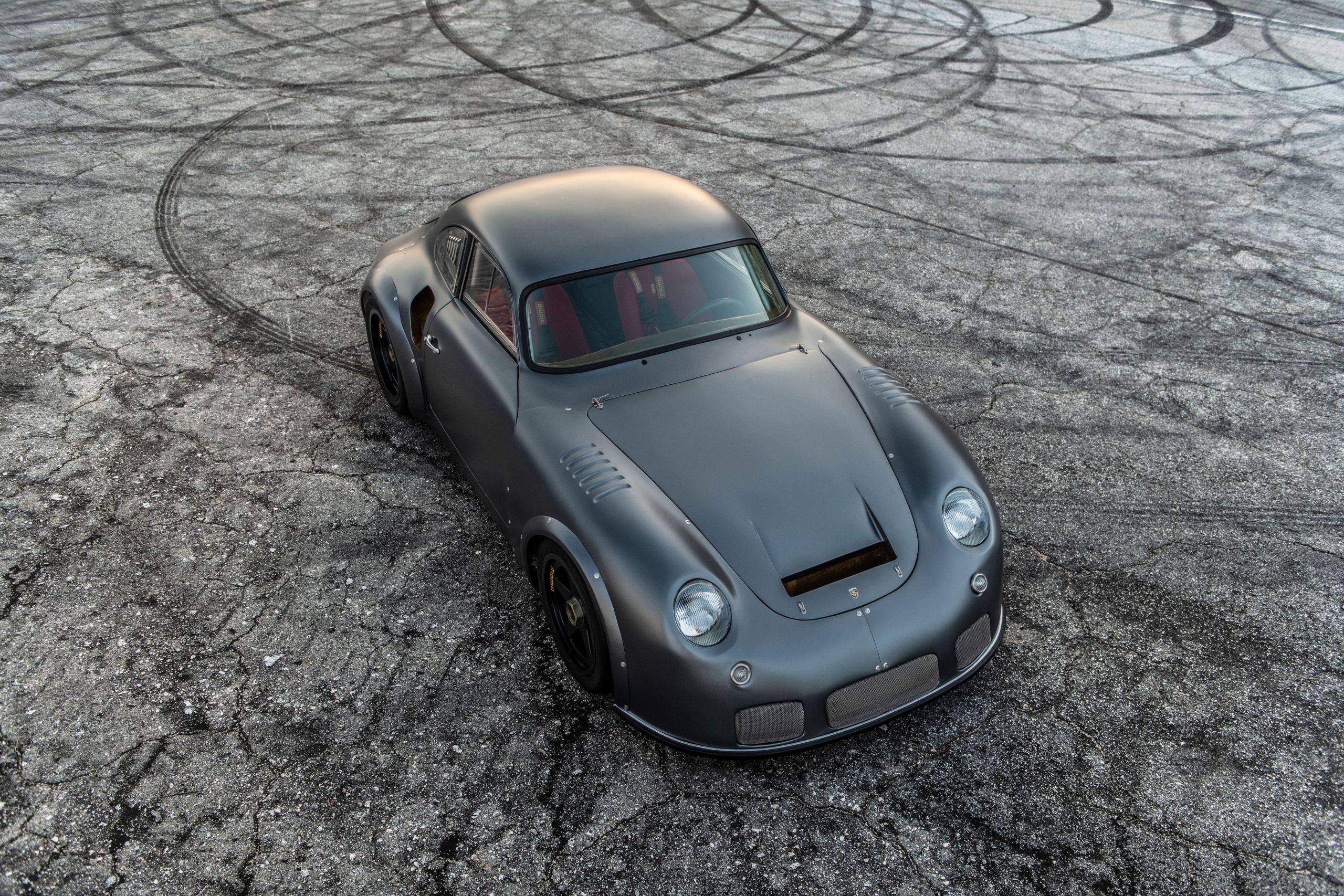 1960 Porsche MOMO 356 by Emory front three-quarter