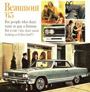 1965 Acadian Beaumont Sport Deluxe Coupe