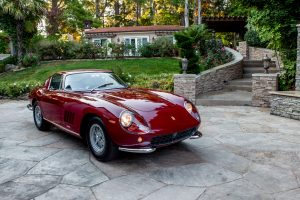 1965 Ferrari 275 GTB by Scaglietti front three-quarter