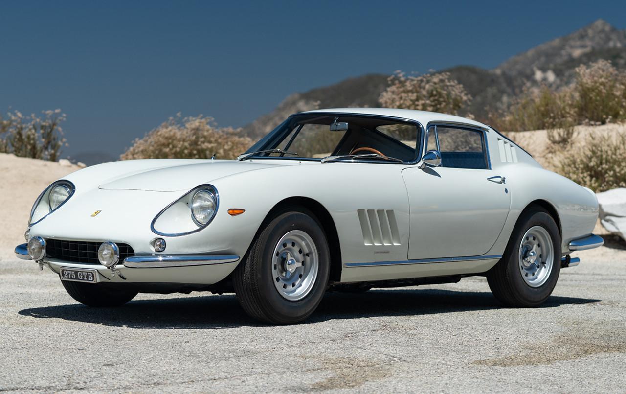 1966 Ferrari 275 GTB Long Nose front three-quarter